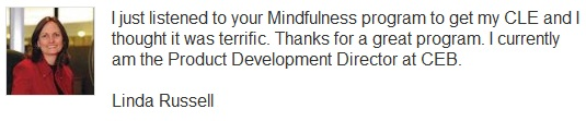 mindfulness works for lawyers