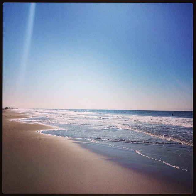 ocean beach - shimmer