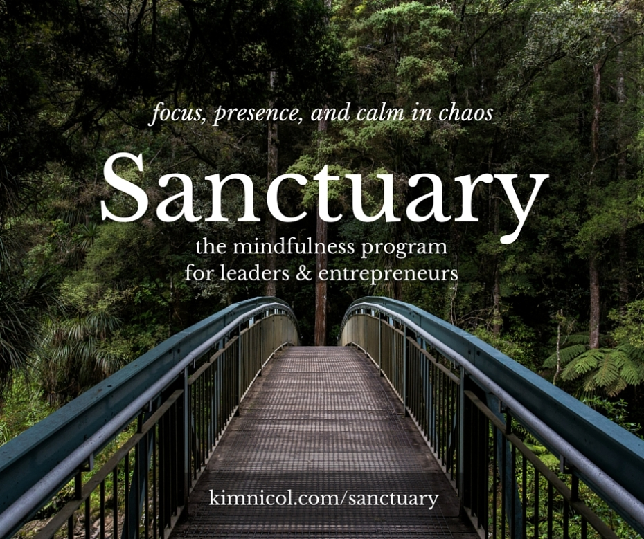 sanctuary - self care for leaders and entrepreneurs
